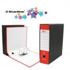 Registratore Starbox - dorso 8 cm - commerciale 23x30 cm - rosso - Starline