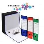 Registratore Starbox - dorso 5 cm - protocollo 23x33 cm - colori assortiti - Starline