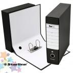Registratore Starbox sfuso - dorso 8 cm - protocollo 23x33 cm - nero - Starline