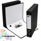 Registratore Starbox sfuso - dorso 5 cm - protocollo 23x33 cm - nero - Starline