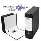 Registratore Starbox - dorso 8 cm - commerciale 23x30 cm - nero - Starline