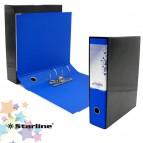 Registratore Kingbox - dorso 8 cm - protocollo 23x33 cm - blu - Starline