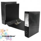 Registratore Kingbox - dorso 8 cm - protocollo 23x33 cm - nero - Starline