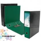 Registratore Kingbox - dorso 8 cm - protocollo 23x33 cm - verde - Starline