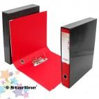 Registratore Kingbox - dorso 5 cm - protocollo 23x33 cm - rosso - Starline
