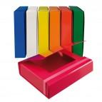 Cartella progetto - con elastico - dorso 5 cm - colori assortiti - Starline