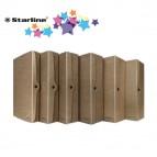Scatola progetto - dorso 4 cm - 25x35 cm - cartone riciclato FSC - avana -Starline