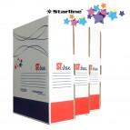 Scatola archivio ST-box - dorso 10 cm - 24,5x32,5 cm - bianco - Starline