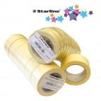 Nastro adesivo in carta - 25 mm x 50 m - beige - Starline
