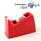 Dispenser da banco - nastri 33 mt - rosso - Starline